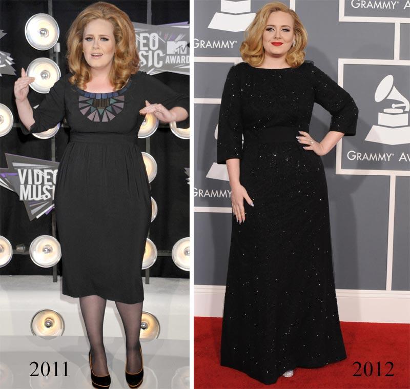 Desmontando la radical pérdida de peso de Adele