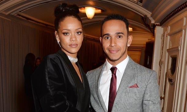 Rihanna y Lewis Hamilton, ¿algo más que una buena amistad?