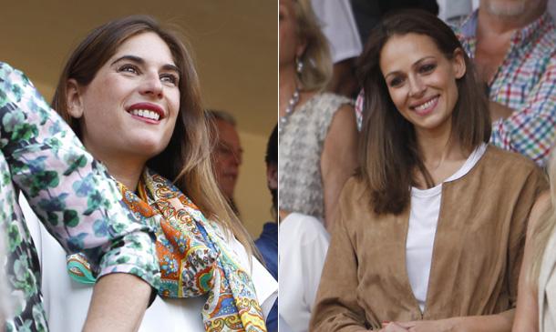 Lourdes Montes y Eva González, la felicidad de dos 'cuñadas' en Ronda