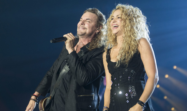 ¡Sorpresa! Shakira, invitada estrella del concierto de Maná en Barcelona