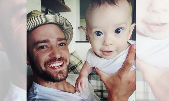 Silas, el simpático 'muñeco' de Justin Timberlake y Jessica Biel