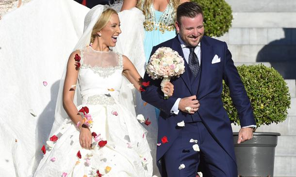 La felicidad de Vicente del Bosque en la boda de su primogénito