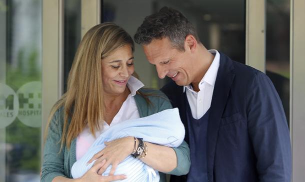Joaquín Prat bautiza a su hijo... ¿quién ha sido la madrina?