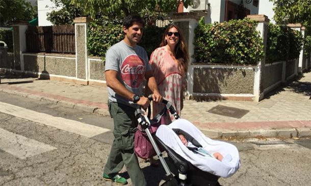 Francisco Rivera y Lourdes Montes nos regalan su primer paseo con Carmen