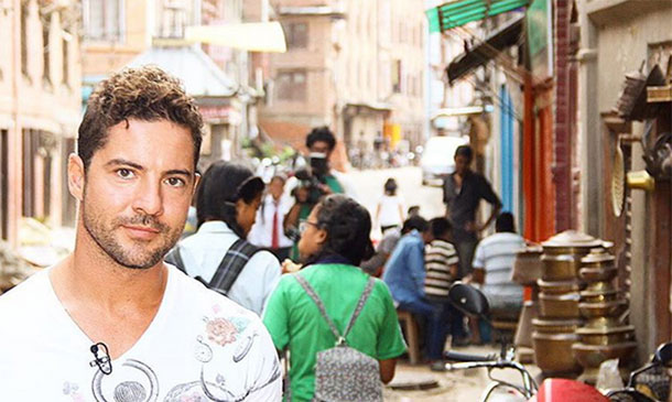 'Volver a Nepal': David Bisbal se embarca en su aventura más solidaria