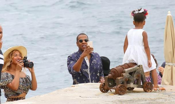Así son las vacaciones de más de 800.000 euros de Beyoncé y Jay-Z