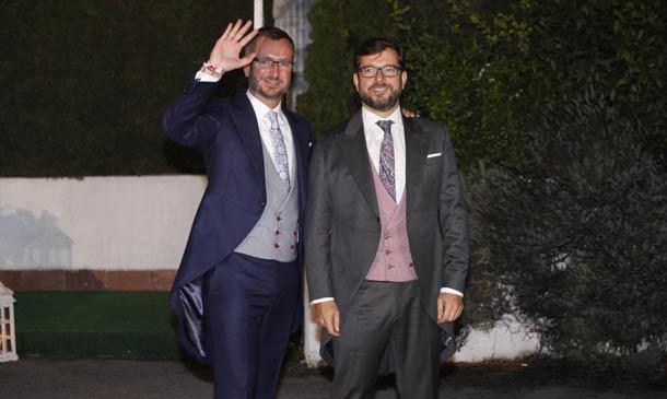 El Partido Popular se da cita en la boda de Javier Maroto