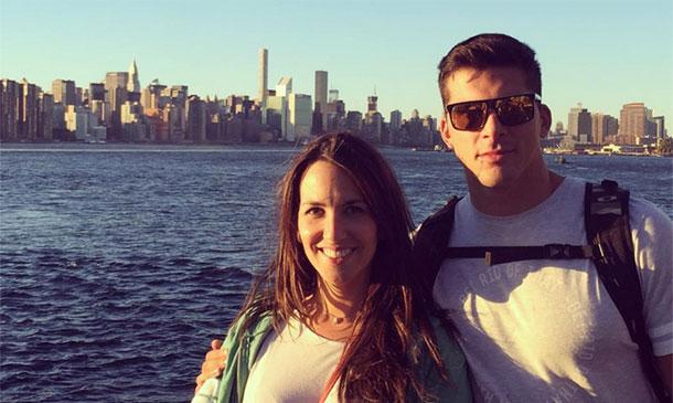 Irene Junquera se toma un respiro en 'Zapeando' y se escapa a Nueva York con su novio
