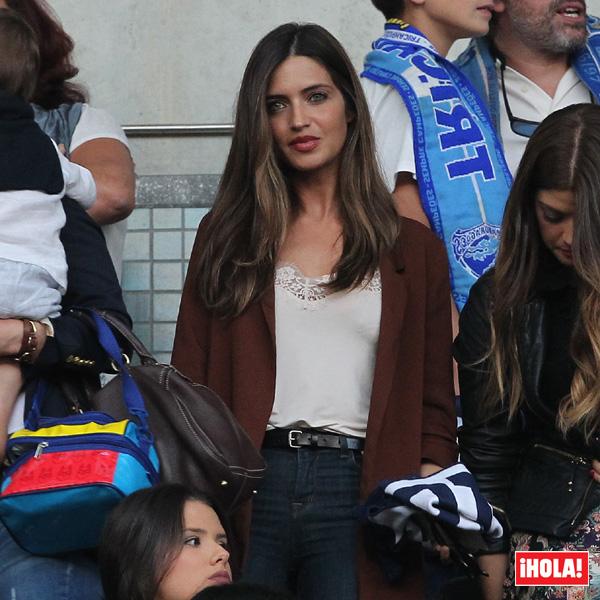 Sara Carbonero ya no se pierde ningún partido de Iker Casillas