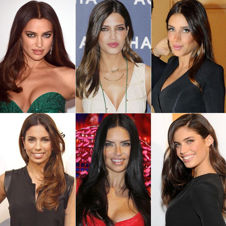 Muy diferentes, pero con rasgos en común... ¡Mujeres de belleza felina!