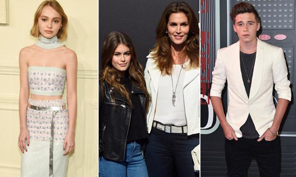 Brooklyn Beckham, Lily-Rose Depp, Kaia Gerber: las nuevas generaciones conquistan la alfombra roja
