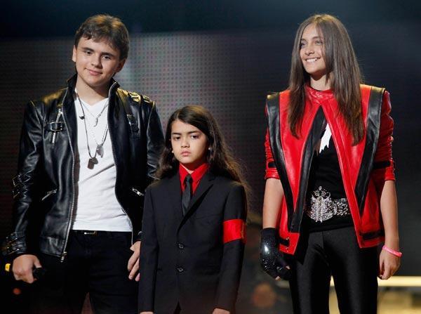 Los tres hijos de Michael Jackson saltan a escena en un reality