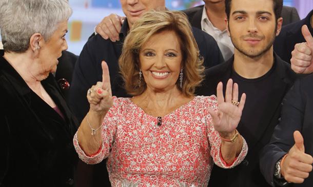 María Teresa Campos y Terelu tienen un buen motivo para sonreír