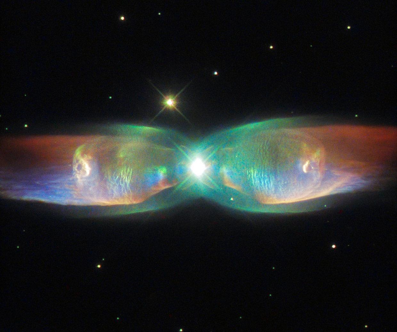 La Nebulosa de la Mariposa, un espectáculo celestial