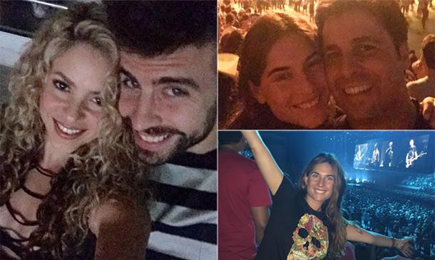 Shakira y Piqué, Francisco Rivera y Lourdes Montes... el rock de U2 se disfruta mejor en pareja