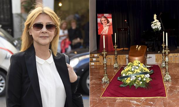 Amparo Larrañaga da su último adiós a Ana Diosdado, la que fuera mujer de su padre durante 20 años