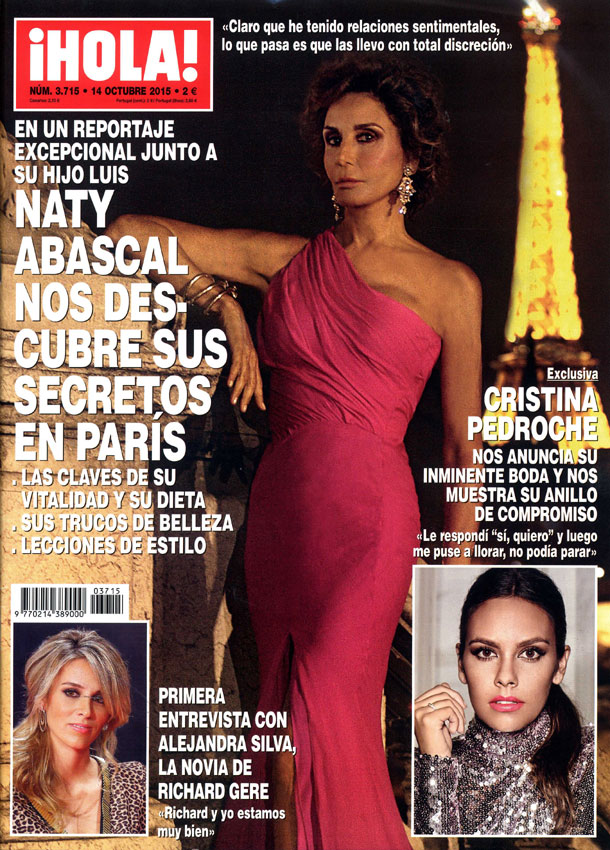 En ¡HOLA!, Naty Abascal nos descubre sus secretos en París