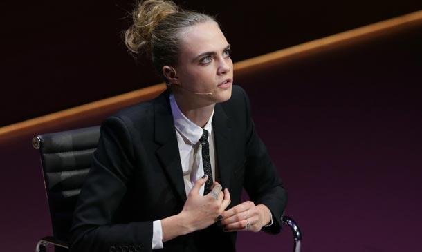Cara Delevingne se sincera: Kate Moss la ayudó en sus momentos más difíciles