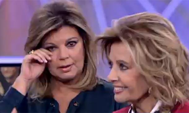 La emoción embarga de nuevo a María Teresa Campos y su hija Terelu