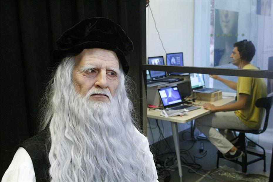 Hablar con Leonardo Da Vinci es posible… más o menos