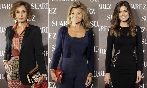 Naty Abascal, Cari Lapique e Isabel Jiménez, entre las invitadas a la apertura de la nueva boutique Suárez