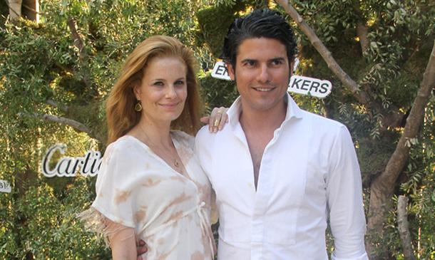 Olivia de Borbón y Julián Porras celebran una gran fiesta por su primer aniversario de boda
