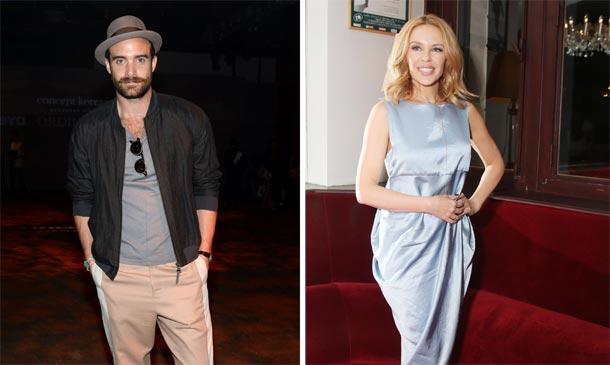Kylie Minogue vuelve a sonreír de la mano de un actor veinte años menor que ella