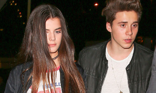 C'est l'amour? Brooklyn Beckham disfruta de una nueva cita con la actriz francesa Sonia Ben Ammar