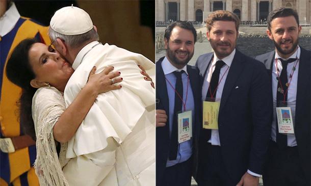 La mañana en la que se cantó flamenco ante el Papa