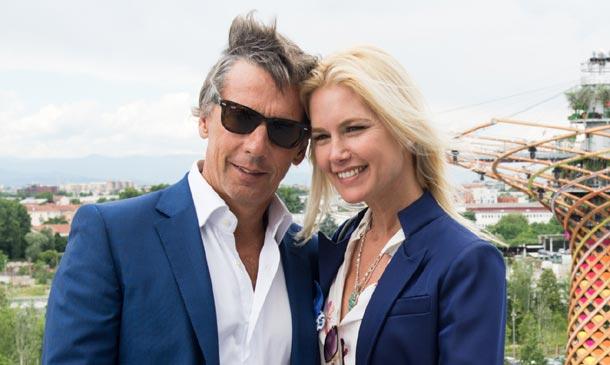 Los 25 años de amor de Valeria Mazza y Alejandro Gravier