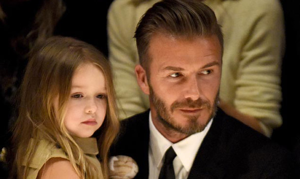 Amazonas y herederas… ¡Cuidado, Harper Beckham viene a galope!