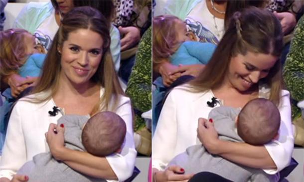 El tierno regreso de Cristina Lasvignes a la televisión