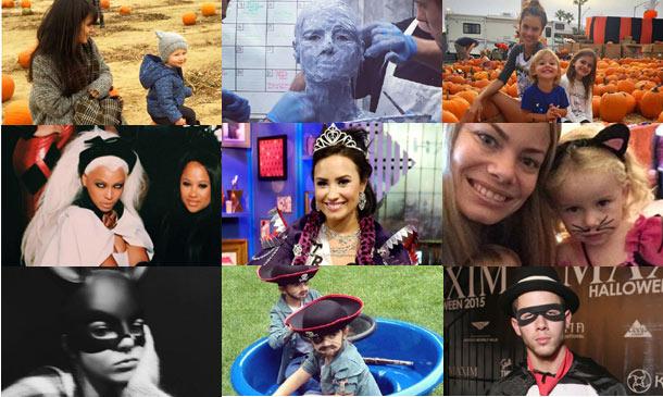 Piratas, calabazas y hasta un 'teletubbie': ¡Las 'celebrities' ya están listas para Halloween!