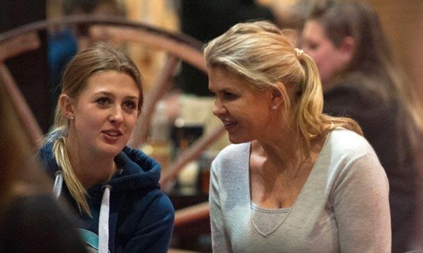 La mujer y la hija de Schumacher, el mejor apoyo del piloto dos años después de su terrible accidente