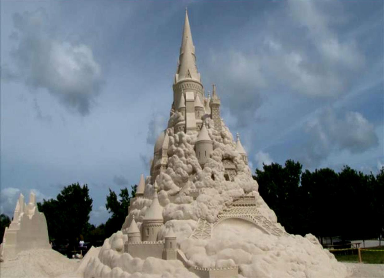 Así es el castillo de arena más grande de mundo