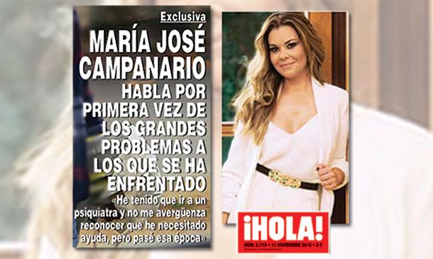 Exclusiva en ¡HOLA!: Las revelaciones más esperadas de María José Campanario