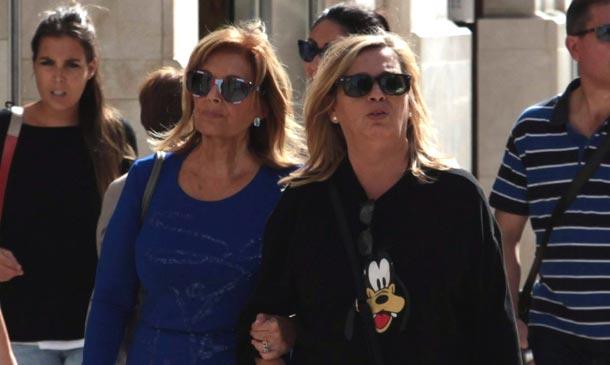 María Teresa Campos rompe la rutina con una escapada a Málaga