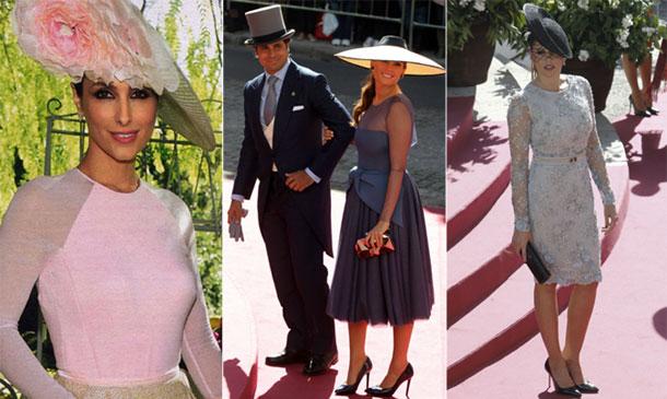 Desfile de tocados y pamelas en la boda de Cayetano y Eva