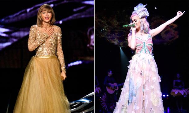 Katy Perry vs Taylor Swift: ¿Quién gana en un duelo 'de lujo'?
