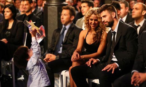 Milan Piqué y sus travesuras le 'roban' la estrella a su papá