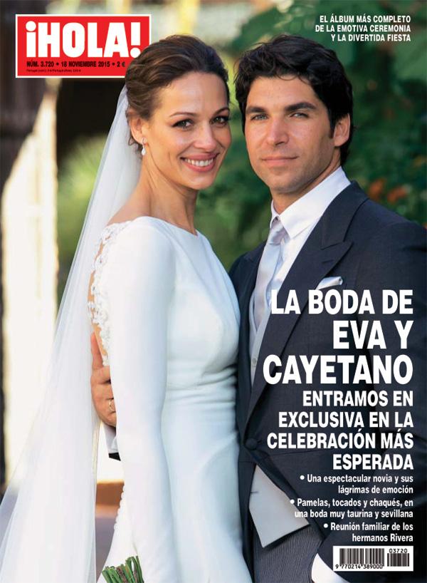 ¡HOLA! adelantará su edición para ofrecerte la segunda parte de la boda de Eva González y Cayetano Rivera
