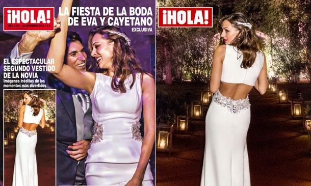 La fiesta de la boda de Eva y Cayetano, exclusiva en ¡HOLA!