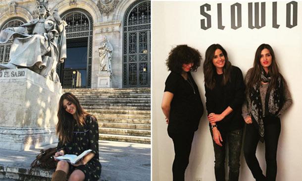 Visitas a la biblioteca, reencuentros con amigas... ¿Cómo aprovecha Sara Carbonero sus días en Madrid?