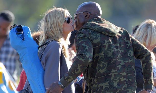 Heidi Klum y Seal, una expareja con buena sintonía
