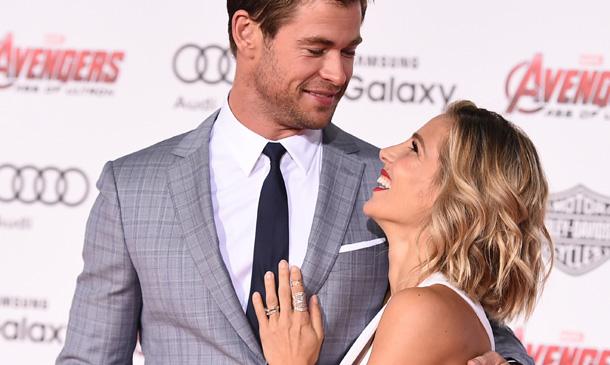 Chris Hemsworth, un superhéroe y también un 'superpapá'