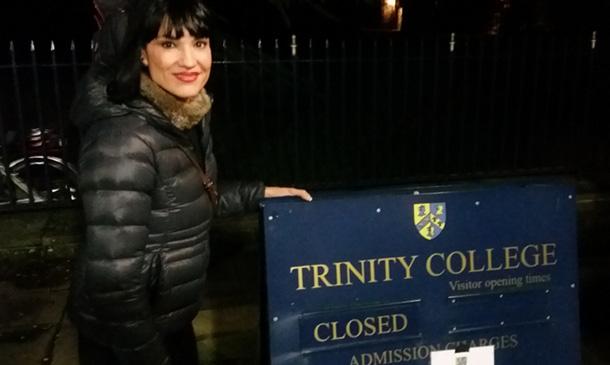 Irene Villa emociona a los alumnos de la Universidad de Oxford con su conferencia