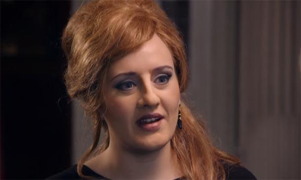 ¿Adele es única? Una 'doble' muy real sorprende a sus fans