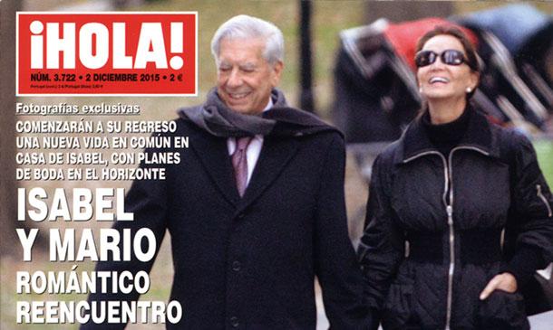 En ¡HOLA!, Isabel Preysler y Mario Vargas Llosa, las imágenes de su apasionado reencuentro en Nueva York