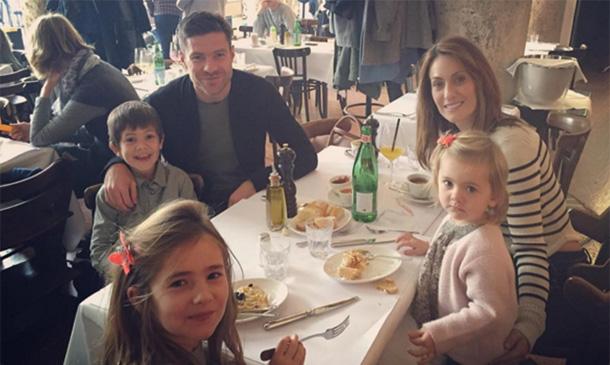 Nagore Aranburu comparte una foto muy familiar para felicitar a Xabi Alonso por su cumpleaños