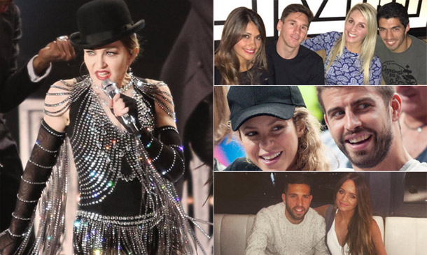 Mientras Madonna revolucionaba Barcelona, ¿qué hacían los jugadores del Barça?